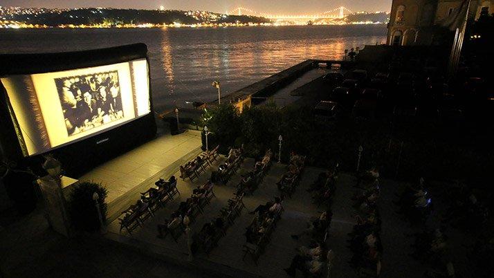 150 TL'ye açık hava sineması için açıklama