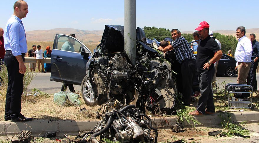 Dekan Murat Sezgin kazada can verdi