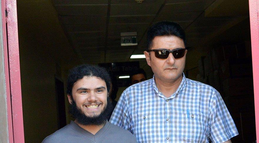Sırıtan IŞİD'lİ da tutuklandı