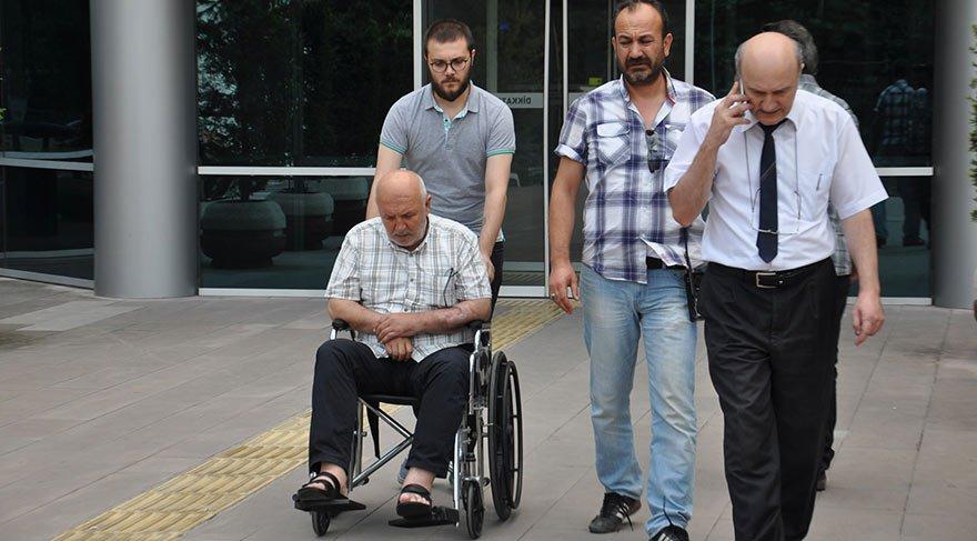 Tekerlekli sandalye ile cezaevine