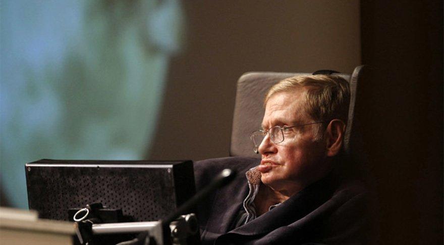 Stephen Hawking tarih verdi: Alev topuna dönüşüp...