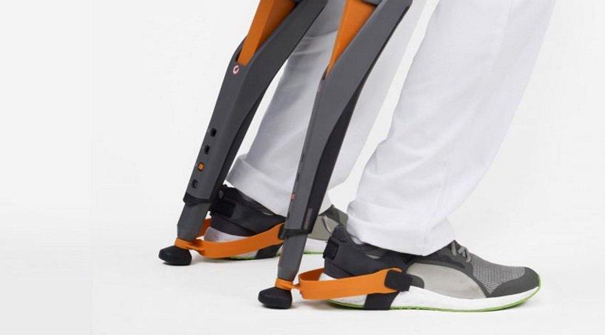 Robot sandalye ayakta çalışanlara deva olacak