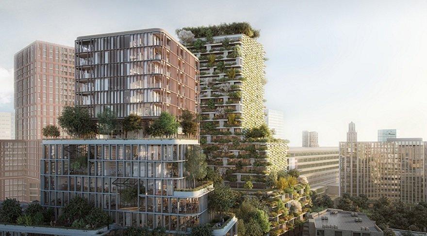 Dikey orman konsepti Çin ve İstanbul'dan sonra Hollanda'da