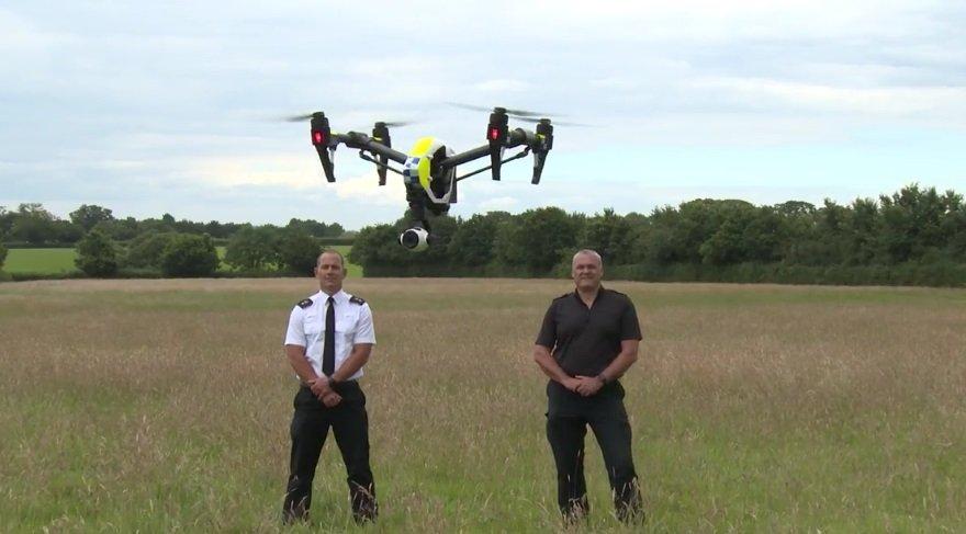 İngiliz polisine teknolojik 'Drone Ekibi'