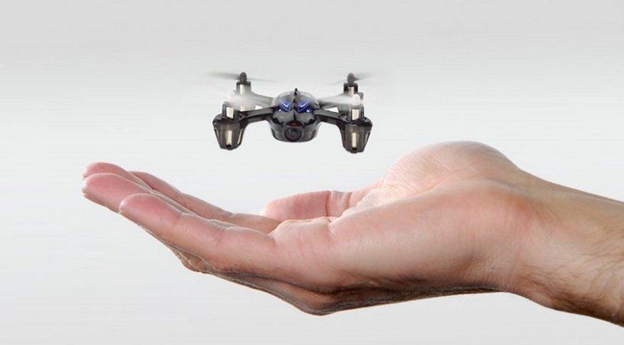 Şişe kapağı büyüklüğünde uçan drone'lar geliyor