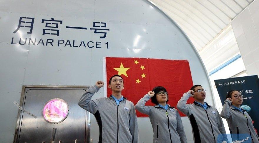 Uzay istasyonu simülatörü için 4 gönüllü bulundu!