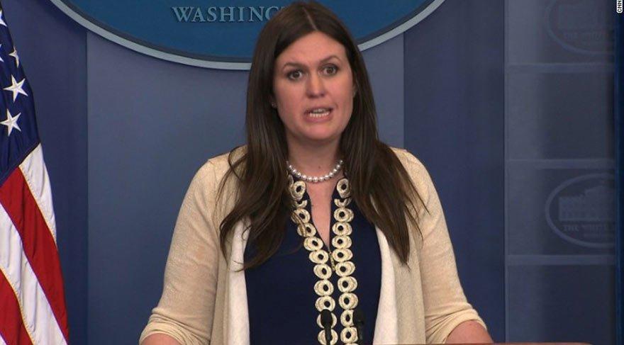 Yeni Beyaz Saray sözcüsü Sarah Huckabee Sanders