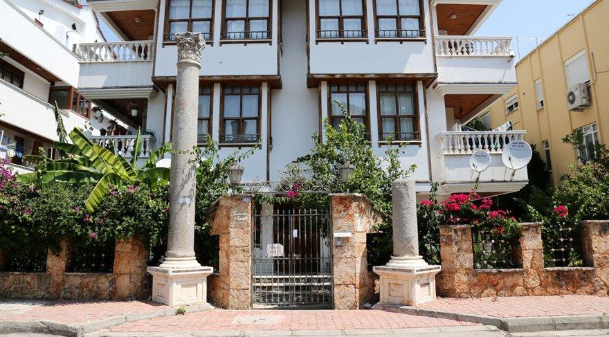 Antalya'daki tartışılan sütunlarda önemli gelişme