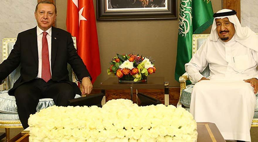 Erdoğan'ın Suudi Arabistan Kralı ile ilk fotoğrafı