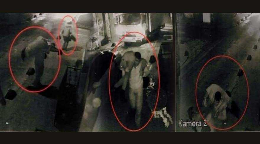 Taksim'deki kız kaçırma dehşetinin görüntüleri ortaya çıktı!