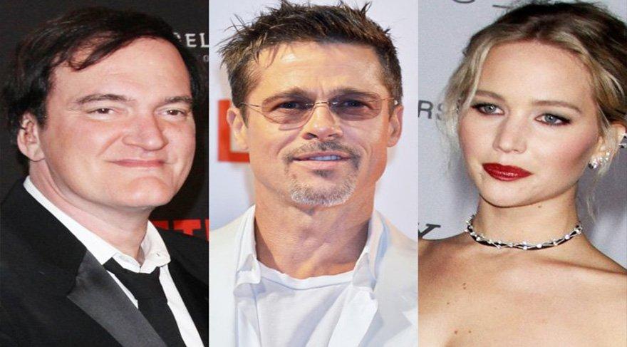 Tarantino'dan yeni film müjdesi! Brad Pitt ve Jennifer Lawrence ile görüşüyor