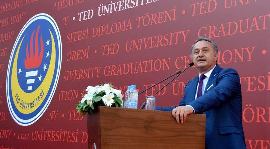 TED Üniversitesi mezuniyet töreni yapıldı