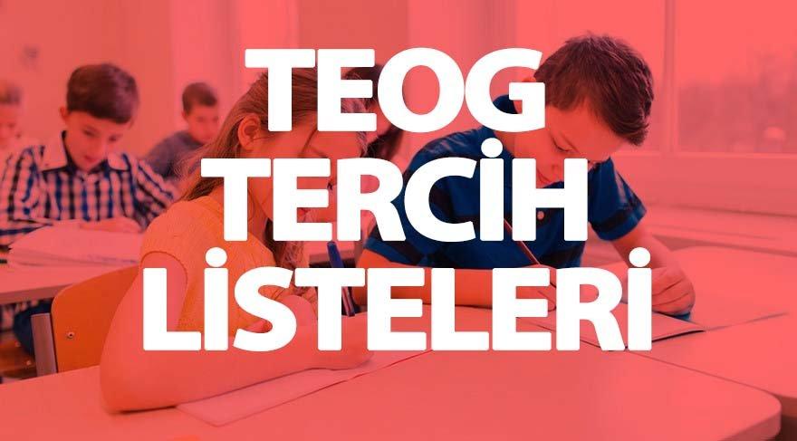 TEOG yüzdelik dilimleri lise puanları: TEOG tercihleri başladı mı?