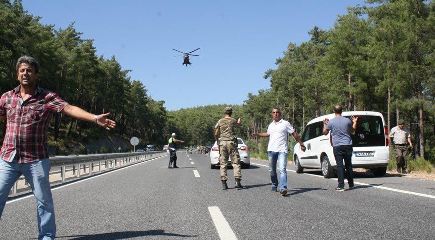 Marmaris'te 'suikast timi'ni yakalayan komutan terfi etti