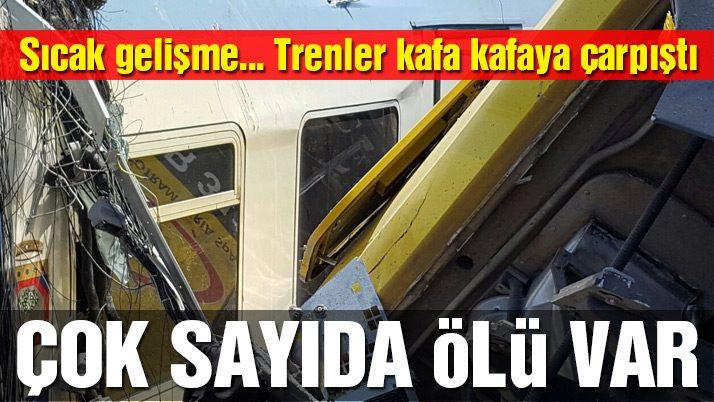 Aydın'da tren kazası: 1 yaralı