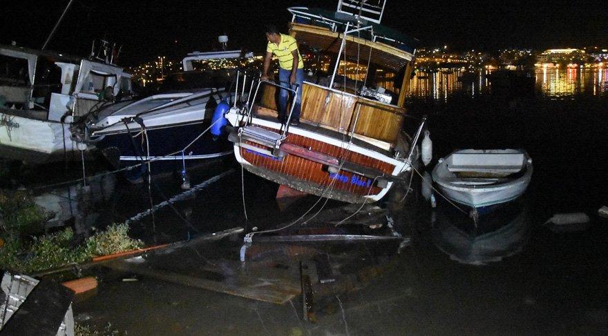 Kandilli'den 'tsunami' açıklaması: 10 santimetre
