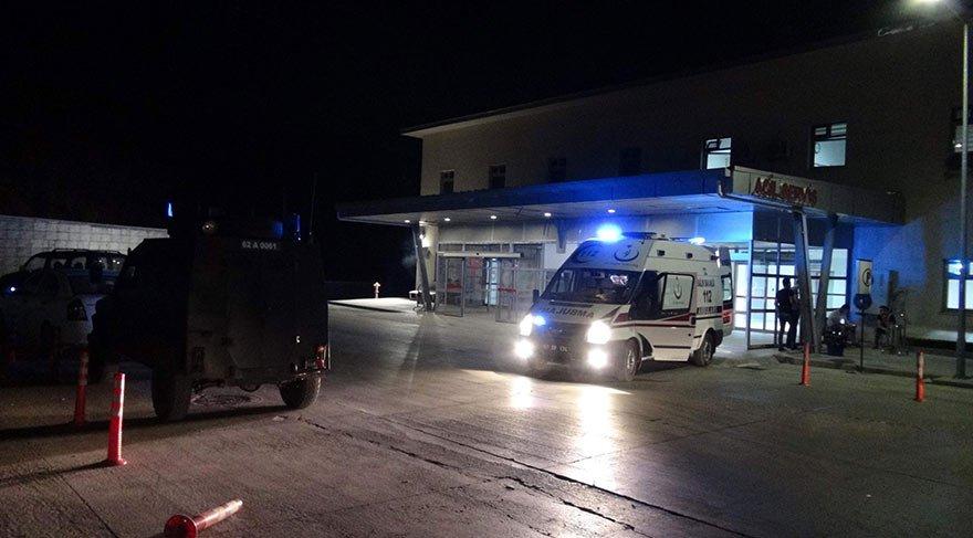 Tunceli'de sivil araca PKK bombası: 1 yaralı