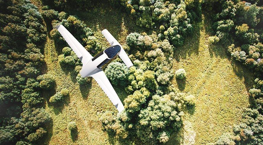 Dünyanın ilk elektrikli jet uçağı testi başarıyla geçti
