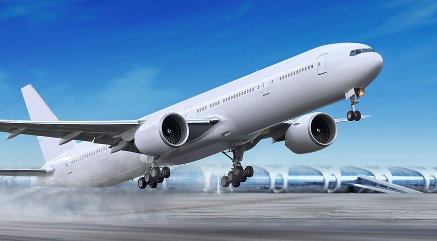 Tekerleği kilitlenen uçağın mucize inişi