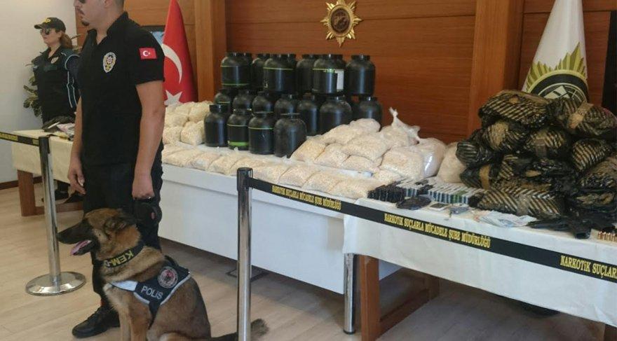 İstanbul'da 3 günde 6 milyonluk uyuşturucu ele geçirildi