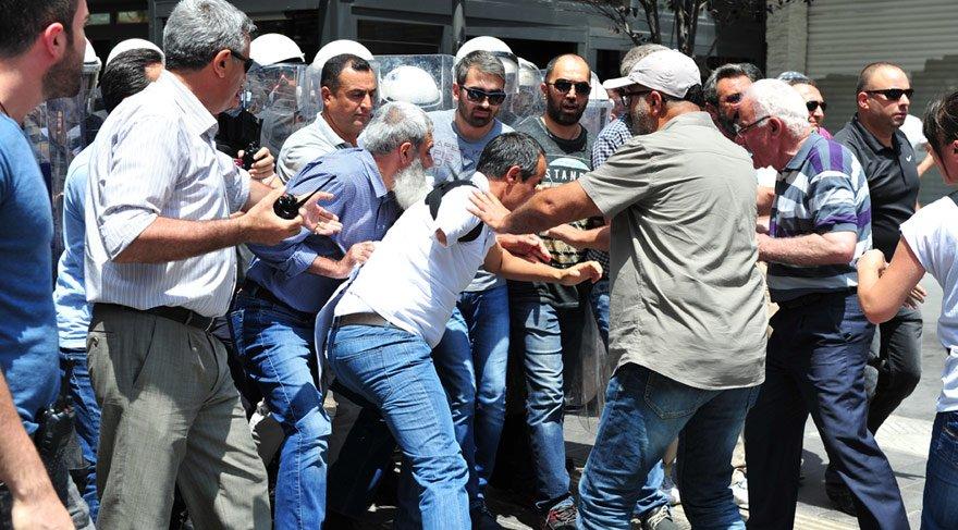 Başkent'teki eyleme polis müdahalesi: 4 gözaltı