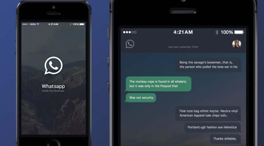 Yakında WhatsApp'ınız kararabilir: WhatsApp gece modu nedir?