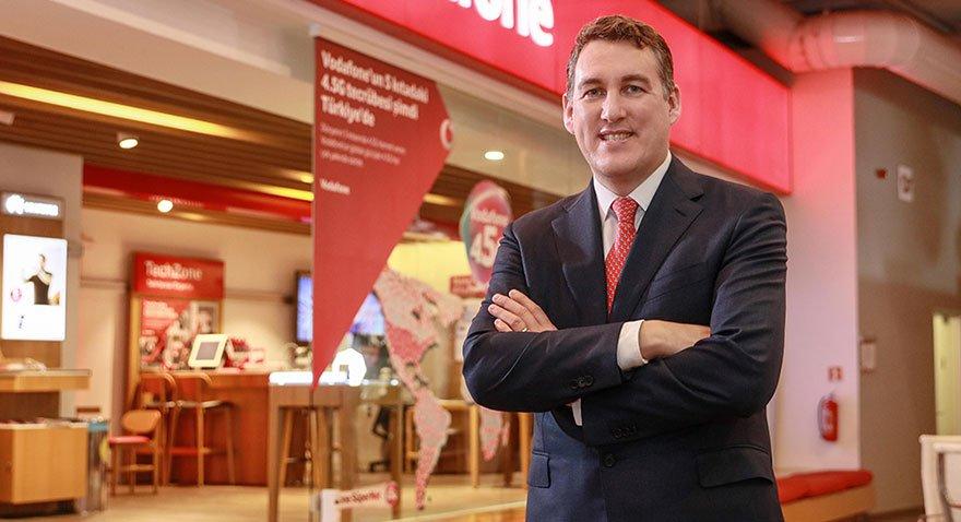 Vodafone'un servis gelirleri yüzde 14 arttı