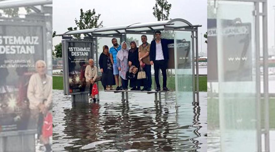 Hayatı olumsuz etkileyen şiddetli yağış sonrası vatandaşlar duruma sosyal medyadan isyan etti!