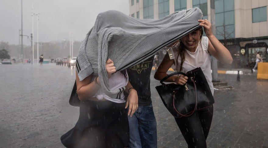 Meteoroloji'den İstanbul uyarısı: Yağmur nereleri etkileyecek? İstanbul 28 Temmuz hava durumu