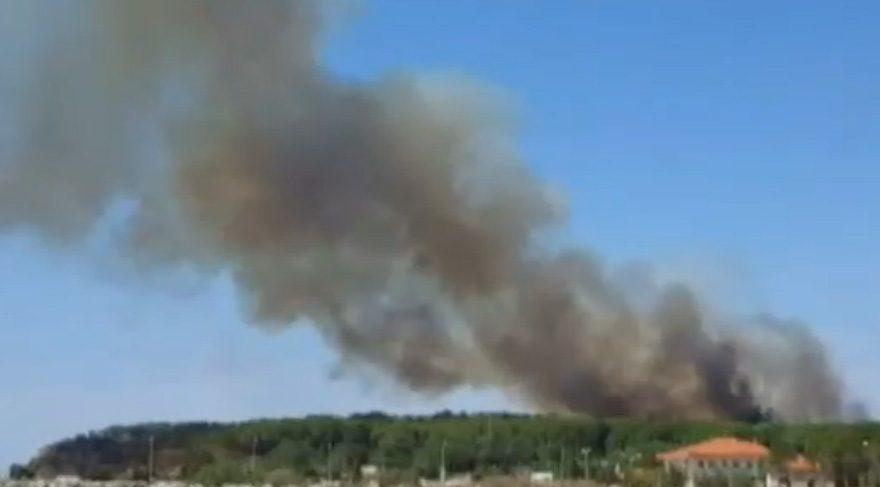 Çerkezköy'de matbaa fabrikasında yangın