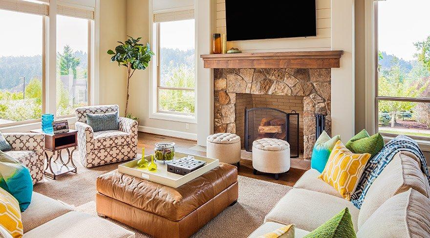 Neşeli bir yaz evi için yaratıcı öneriler
