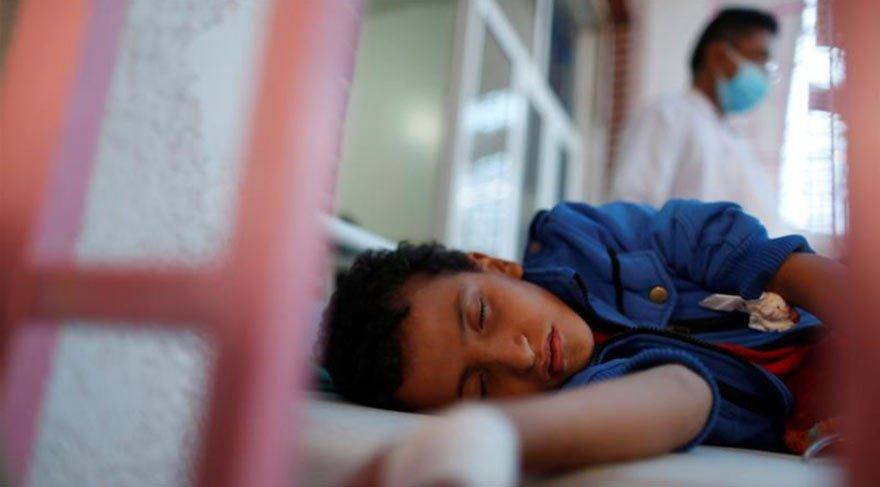 O ülkede bin 828 kişi koleradan öldü