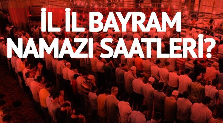 İl il bayram namazı vakitleri: Tekirdağ'da Kurban Bayramı namazı saat kaçta kılınacak?