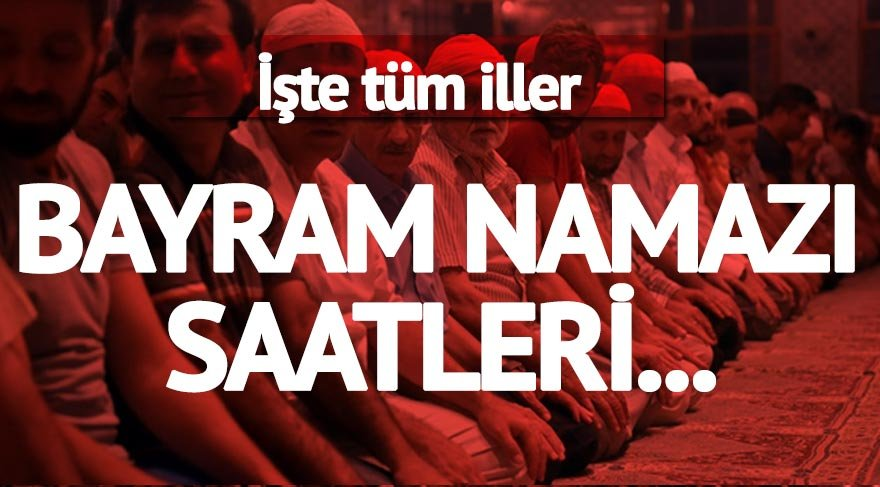 Diyarbakir Kurban Bayram Namazi Saat Kacta Il Il Bayram