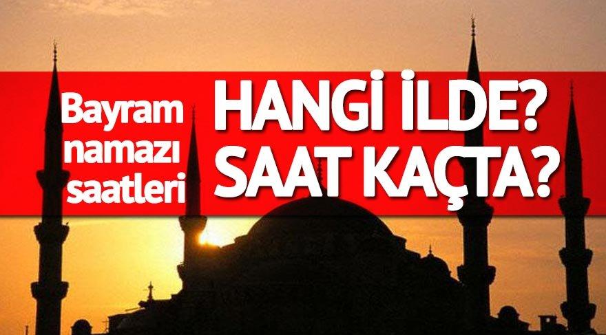 Ordu bayram namazı saat kaçta? Tüm Türkiye'nin namaz saatleri (Kurban Bayramı 2017)