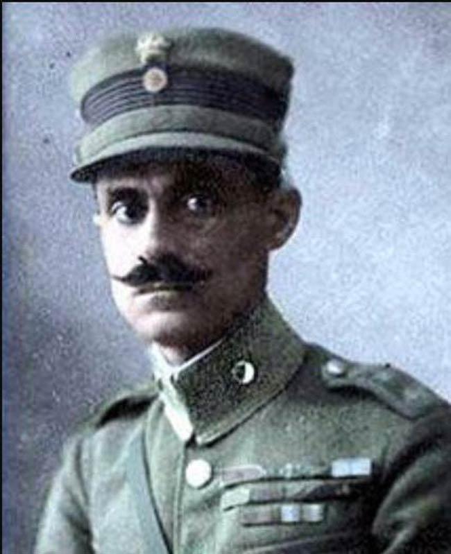 Yunan ordusunun başkomutanı general Nicolas Trikupis