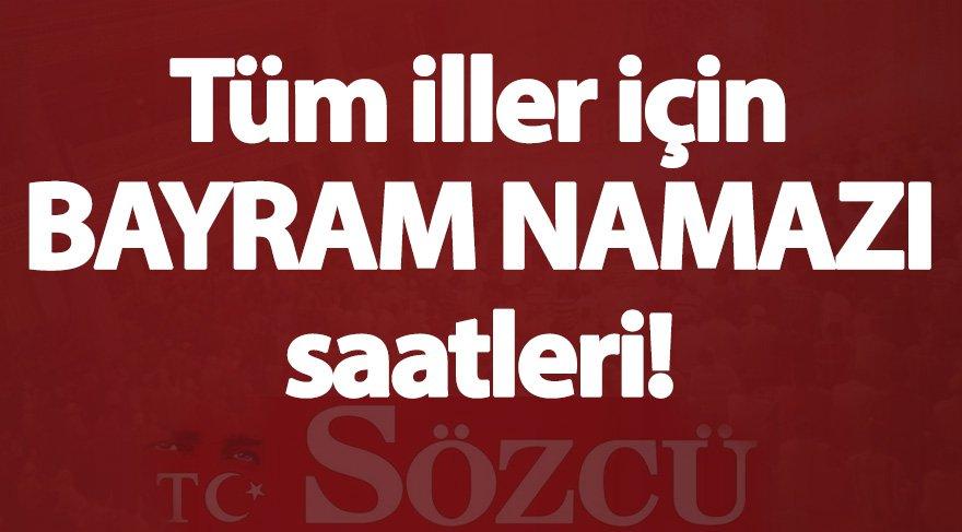 Ankara bayram namazı saati: İl il bayram namazı vakitleri (KURBAN BAYRAMI 2017)
