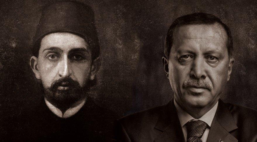 Ofisine bir Erdoğan, bir Abdülhamid Han tablosu koyan ihaleyi alıp yürüyor