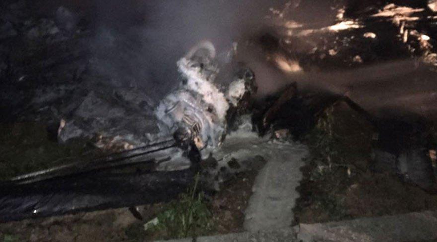 Adana'dan düşen İHA bomba yüklüymüş