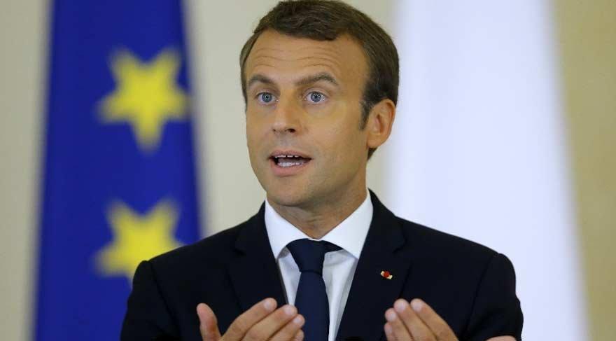 Macron'dan AB'ye uyarı!