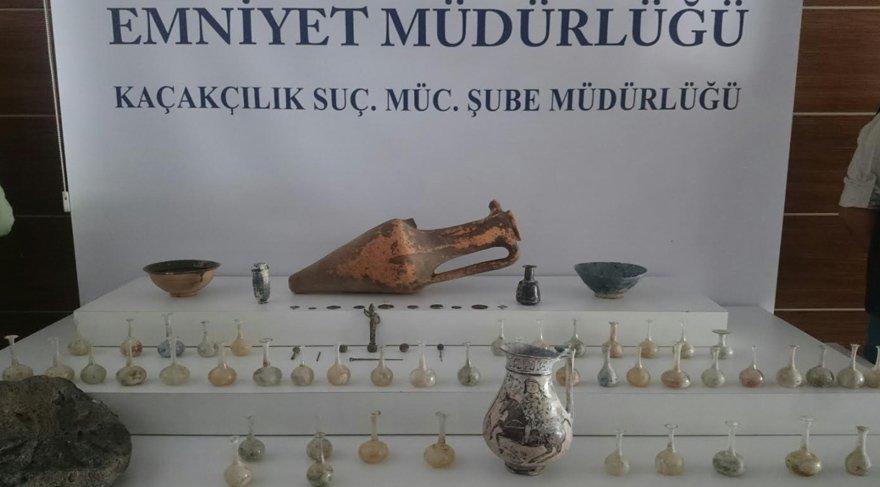 Arkeoloji mezunu polislerden 'önemli' operasyon