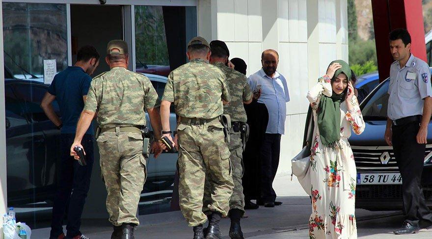 Sivas'ta 31 asker gıda zehirlenmesi şüphesiyle hastaneye vaşvurdu