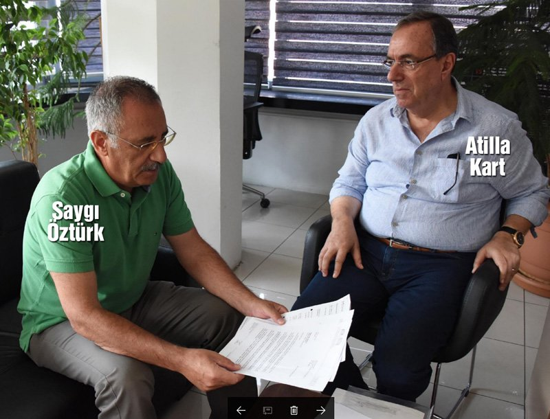 Atilla Kart, 16 Nisan ile ilgili gelişmeleri Sözcü Ankara Temsilcisi Saygı Öztürk'e anlattı.