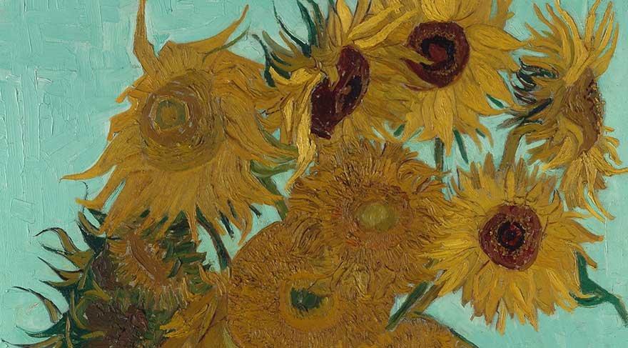 Van Gogh'un Ayçiçekleri sanal sergide