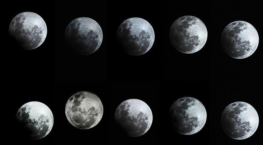 Parçalı ay tutulması nerelerden izlenecek? Parçalı ay tutulması saat kaçta başlayacak?
