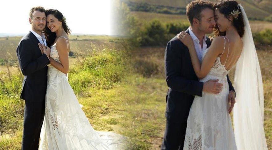 Ve Azra Akın nikah masasında! İşte ilk fotoğraflar