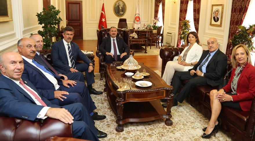 TBB'den Adalet Bakanı Gül'e 'hayırlı olsun' ziyareti