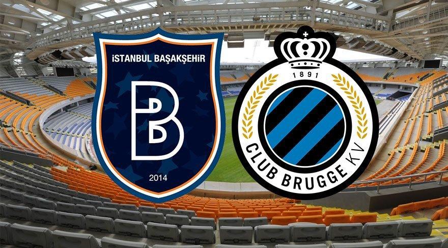Medipol Başakşehir Club Brugge maçı canlı izle! Başakşehir tura çok yakın! (Şampiyonlar Ligi)
