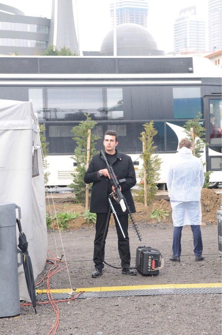 Başbakan Binali Yıldırım'ı İstanbul Fikirtepe'de Şubat ayında katıldığı bir temel atma töreninde 'drone savar'lı ekipler korumuştu.