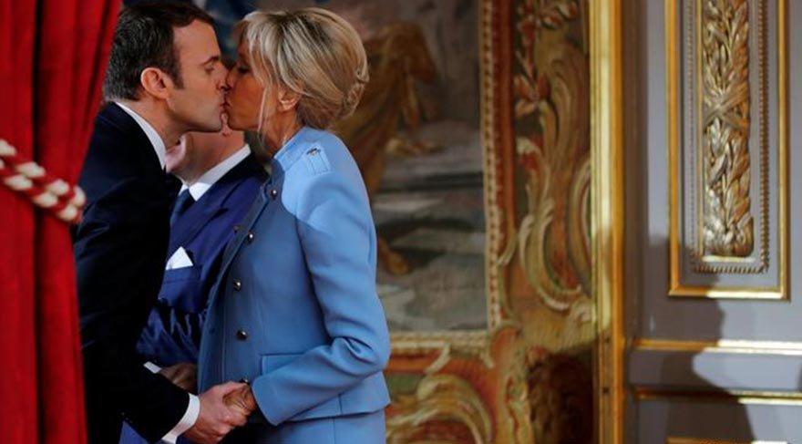 Macron ve eşi yaz tatili için Marsilya'ya gidiyor